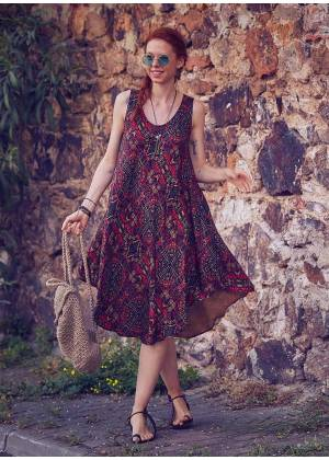 Boho Hippie Wholesale Chic Summer Dress