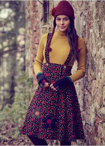 Wholesale Boho Authentic Floral Jumper Dress