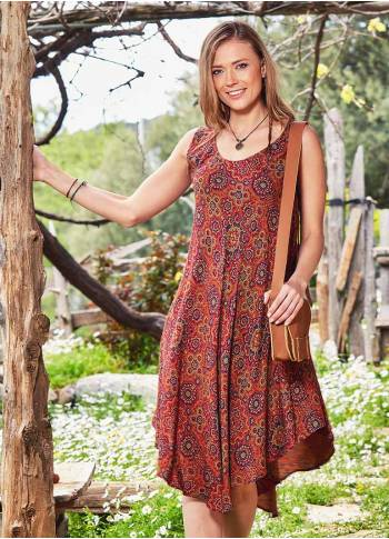 Boho Wholesale Authentic Summer Day Dress