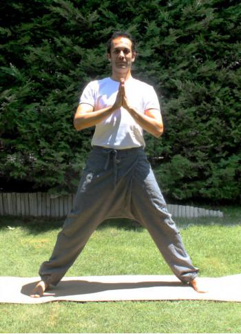 Mens Drop Crotch Yoga Pants