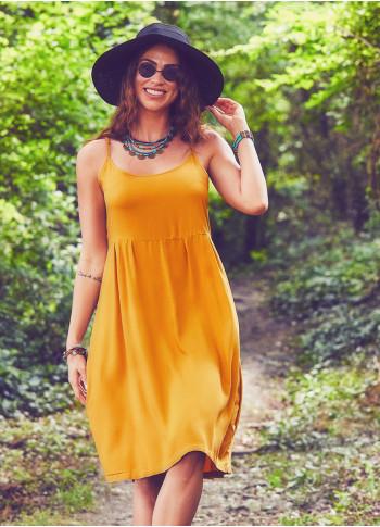 Boho Mustard Sundress