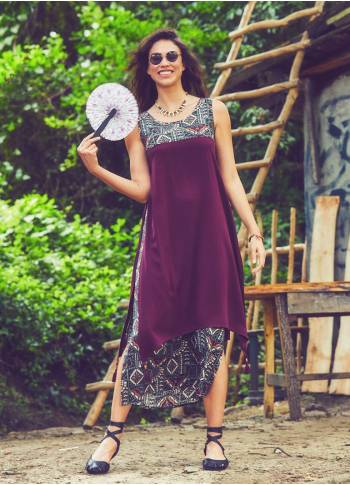 Maxi Summer Khaki Dress