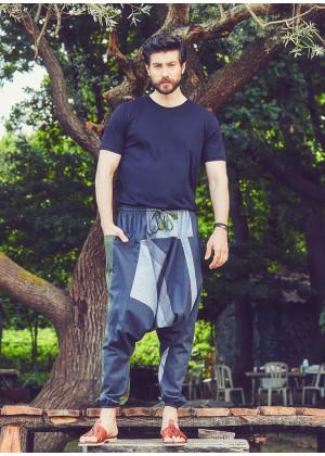 Men's Claret Green Trousers