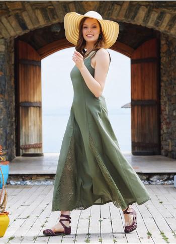 Bohemian Style Maxi Lace Soil Dress
