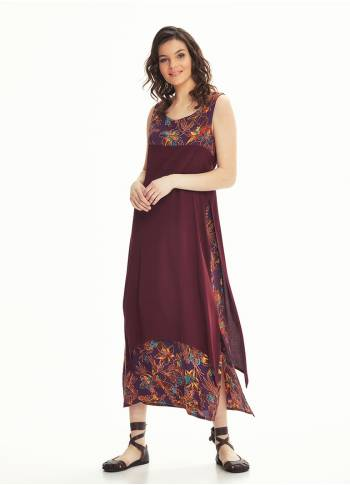 Maxi Summer Purple Dress