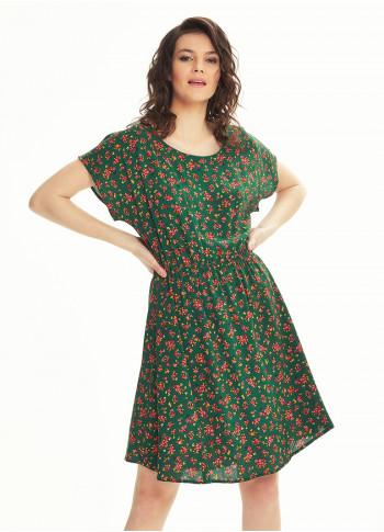 Boho Style Green Spring Daydress
