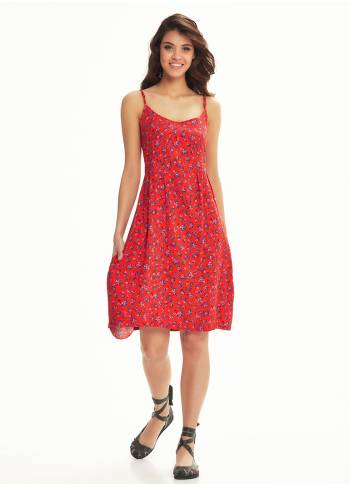 Boho Red Sundress