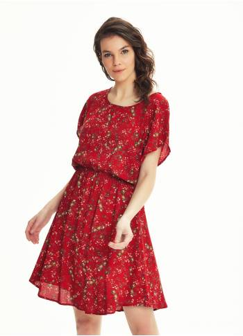 Boho Style Red Clover Daydress