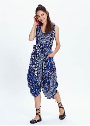 Boho Dress - E22bluepatchpatch